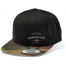 Crankbrothers Snap Back Hat camo